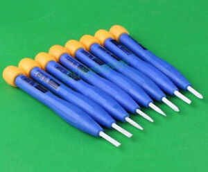 8pcs Adjust frequency Screwdriver Anti static Plastic Ceramic Set Hand Tools New