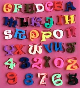 Letters and Numbers 36 Cavity Silicone Mold