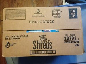 CASE OF 10 General Mills Cinnamon Toast Crunch Blasted Shreds 23.2 oz (657g) 10x