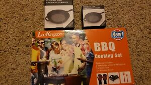 Bbq grill cooking accessories set