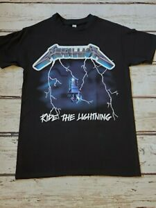 NEW METALLICA RIDE THE LIGHTNING T SHIRT
