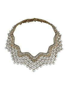 CHANEL Pearl Collerette Necklace Includes Designer Box Copy of Valuation Report