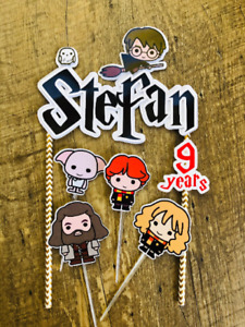 Personalized Harry Potter Cake Topper Party Favor Cake