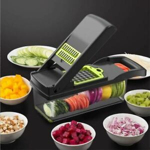 Mandoline Vegetable Fruit Slicer Grater Cutter Peeler Multifunctional Kitchen To