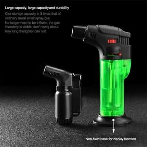 Butane Lighter Torch Refillable Adjustable Flame Lighter Chef Cooking Torch