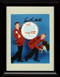Framed Smothers Brothers Autograph Promo Print - Portrait