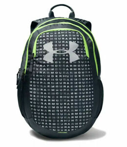 NWT Under Armour 1342652 Scrimmage 2.0 UA Storm GRAY GREEN Backpack Free Ship $29.99