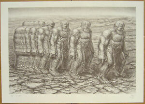 De Es Schwertberger STEPPING OUT original signed lithograph in edition of 170 $149.00