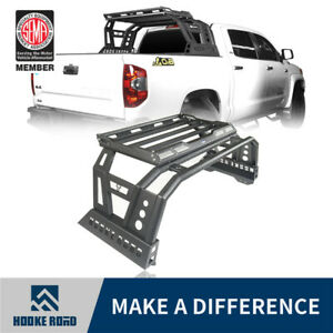 Hooke Road Truck Roll Bar w Luggage Rack Cargo Carrier for Toyota Tundra 14-20