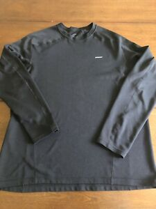 Patagonia Men's Black Men's Size Large Black Long Sleeved Dry Fit Shirt $19.99