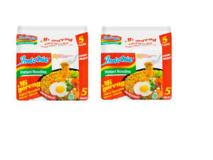 Indomie 100%HALAL Mi Goreng FRIED NOODLES Original Flavor (Pack of 10)
