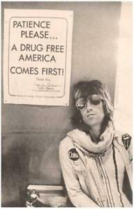 Keith Richards Rolling Stones Drug Free Poster $21.99