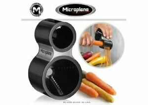 Microplane Stainless Steel Vegetable Spiral Cutter *New in Box Black* Free ship