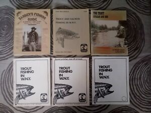 SANDER#x27;S FISHING GUIDE Western New York Edition Lot of Vintage Fishing Guides