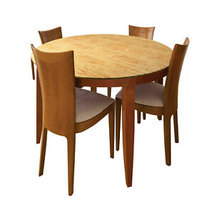 Fitted Round Table Covers - Indoor/Outdoor Decorative Stretch Fit Table Cloth