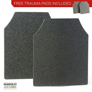 Body Armor AR500 Level 3 Set Of Curved 10x12 Plates In Stock Immediate Shipping $89.95