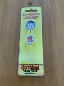 NEW Northland Fishing Tackle Glo Buster UV Lure Light Glo Buster GBUV 2