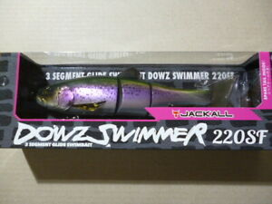 JACKALL Lure Dowz Swimmer 220SF 220mm 3.6oz RT trout USA Limited Color Unused