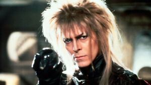 Labyrinth Movie David Bowie Goblin King #1 7x10 Craft Sewing Cotton Fabric Block $15.00