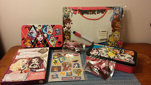 Monster High Party Package- Tins, Hair Clips, Stickers, ect.