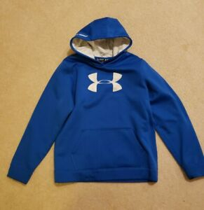 Under Armour Boys Youth XL Hoodie Blue $14.95