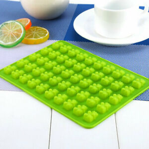 50 Gummy Maker Cavity Bear Mold Novelty Silicone Chocolate Tray Candy Ice X4Q8