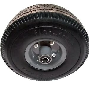 Toro Time Cutter Z Front Wheel Solid Rubber Flat Free Tire 3/4 4.25
