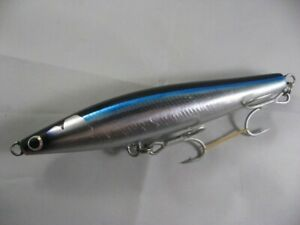 Supplies Sugipen 185F Floating New Unused Silver Blue Pencil Bait
