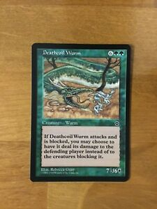 MTG Portal Second Age * Deathcoil Wurm * x1 NM M Out of Pack