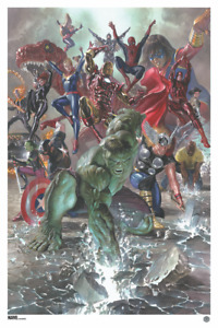 Marvel Legacy #1 Variant Print by Alex Ross Avengers Edition of 100 RARE $79.95