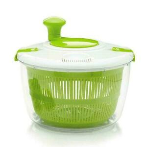 Food Dehydrators-Salad Vegetable Fruit Fast Dry Drain Basket Strainer H4J5