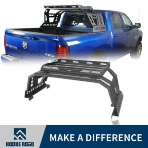 Hooke Road Steel Roll Bar High Bed Rack Luggage Carrier For Dodge Ram 1500 09-18