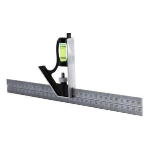 12quot; Adjustable Engineers Square Combination Set Right Ruler Kit Angle G5J8 $7.34