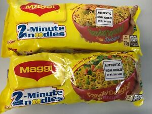 Maggi 2 Minutes Noodles Masala  280g x 2  Authentic Indian Noodles FREE SHIPPING