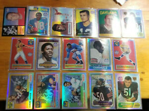 2001 Topps Archives Reserve Football singles you pick choice $0.99