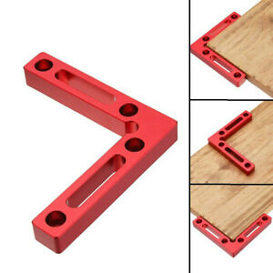 90°Positioning Clamping L Square Right Angle Clamp Woodworking Carpenter Tool $18.61