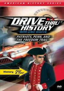Patriots Penn and The Freedom Trail DVD By Coldwater Media VERY GOOD