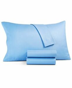Soft Comfort Embossed Collection  3-pc Queen Blue Sheet Set T410721-H
