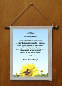 Special - Personalized Wall Hanging (718-1)
