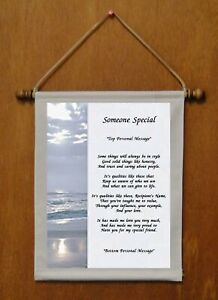 Someone Special - Personalized Wall Hanging (254-2)
