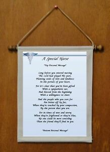 A Special Nurse - Personalized Wall Hanging (845-1)