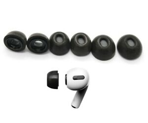 Replacement Ear Tips for Apple Airpods Pro; Memory Foam Tips Airpod Pro 3 Pair $10.95