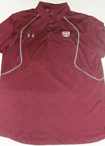 Men's New Under Armour GOLF POLO SHIRT Small 20 x 26.5 vintage S $14.99