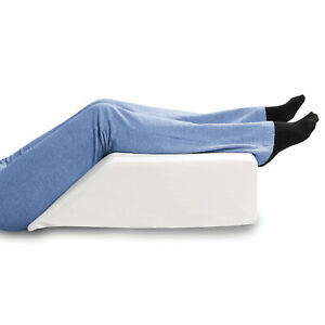 Support Plus Elevated Leg Wedge Pillow, Memory Foam w/ Removable Washable Cover