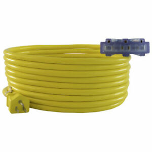 Conntek 12 3 Multi Outlet Outdoor Extension Cords gt;2ft to 100ftlt; UL Listed