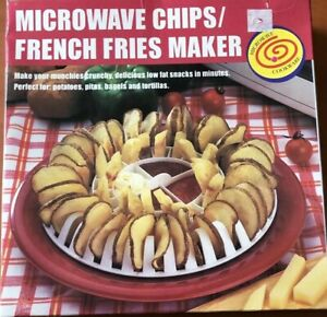 Microwave Chip/French Fries Maker Brand New In Box Free Shipping