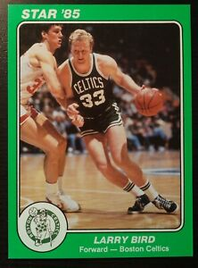 1985 Star Basketball Jumbo Celtics Team Set Larry Bird, McHale, Parish