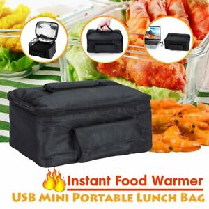 USB Portable Electric Heated Heating Lunch Box Stove Car Hot Food Warmer