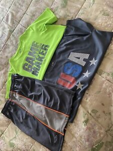 Set of two Old Navy Duo dry Boys Youth Sports T shirts Size XL 14 16 $10.00