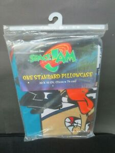 SPACE JAM MICHAEL JORDAN LOONEY TUNES STANDARD PILLOW CASE NIP